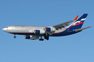 Ilyushin Il-96 Four-engined long-haul wide-body airliner
