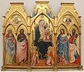Agnolo gaddi, trittico, 1388, 01.JPG