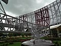 Air traffic control radar and antenna at HAL Museum 7835.JPG
