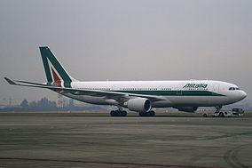 Un Airbus A330-200 Alitalia