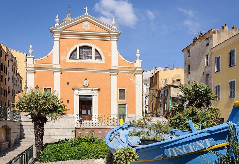 Ajaccio cathedrale barque
