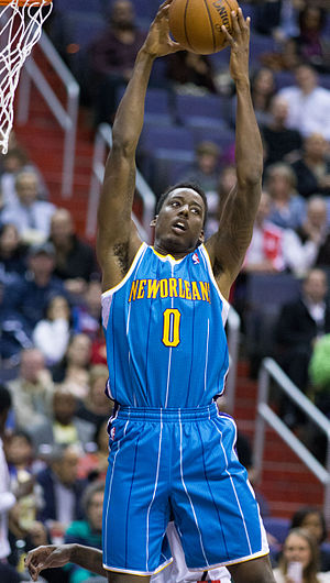 Al-Farouq Aminu - Aminu with New Orleans in 2013