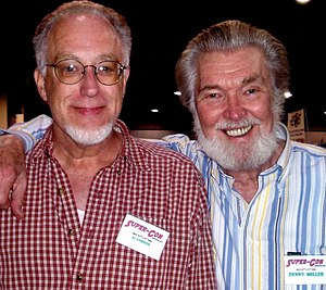 Al Gordon - Al Gordon (left) with Denny Miller at the Super-Con convention