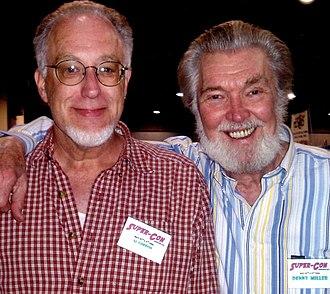 Al Gordon - Al Gordon (left) with Denny Miller at the Super-Con convention