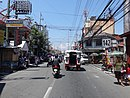 Alabang-Pateros Road (M.L. Quezon) - Lower Bicutan (with Route 142 marker) (Bicutan,Taguig)(2017-06-25).jpg