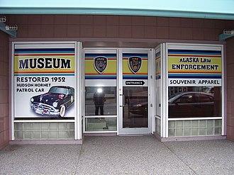 Alaska State Troopers - Museum entrance.