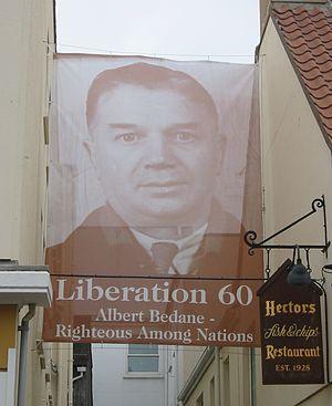 Albert Bedane - Image: Albert Bedane German occupation Jersey