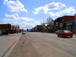 Main Street in Olds