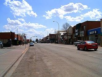 Olds, Alberta - Main Street Olds