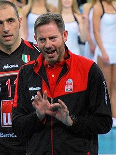 Alberto Giuliani Italian volleyball coach