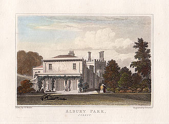Prophetic conference - Albury Park, 1831 engraving