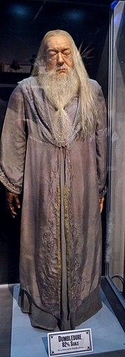 Statue de cire de Dumbledore