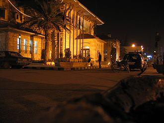 Baghdad railway - Railway station, Aleppo, Syria