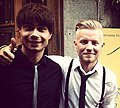 Alexander Rybak and Jan Kristian Kristoffersen (cropped).JPG