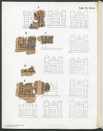 Alexandrian World Chronicle - Image: Alexandrian World Chronicle Pl. 2 Verso