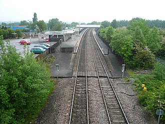 Alfreton railway station - Alfreton railway station in 2008