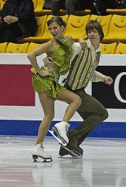 Alisa AGAFONOVA Dmitri DUN Grand Prix Final 2008 – Juniors Dance.jpg