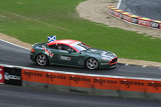 Alister McRae - McRae at the 2007 Race of Champions