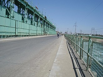 Ramadi - Ramadi dam, known as Al Jazeera bridge