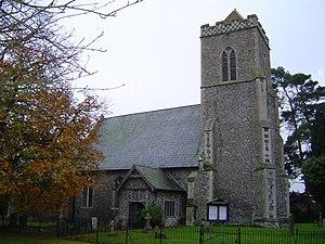 Shelfanger - Image: All Saints' Church, Shelfhanger geograph.org.uk 198245