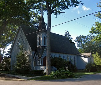National Register of Historic Places listings in Allegan County, Michigan - Image: All Saints' Episcopal Church Saugatuck