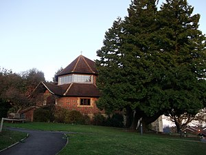 All Saints Church, Oxted - Image: All Saints Church, Oxted by David Anstiss Geograph 2720095