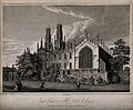 All Souls College, Oxford. Line engraving by J. Skelton, 179 Wellcome V0014060.jpg