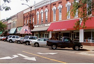 Allegan, Michigan - Locust Street, downtown