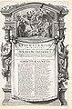 Allegorie op het huwelijk van graaf Willem Frederik van Nassau en Albertina Agnes, 1652 Epithalamium in nuptias Wilhelmi Frderici et Albertinae-Agnetis (titel op object), RP-P-OB-82.304.jpg