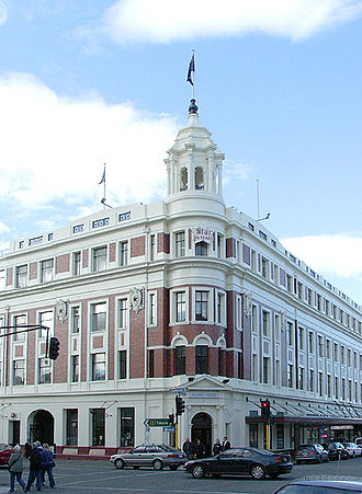 Allied Press - The Allied Press Building, Dunedin