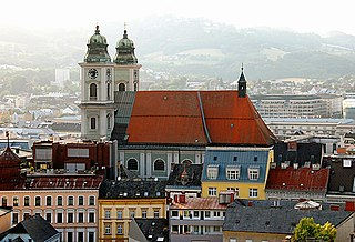 Old Cathedral, Linz Church in Styria, Austria