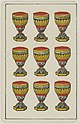 Aluette card deck - Grimaud - 1858-1890 - Nine of Cups.jpg