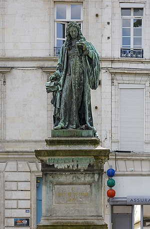 Charles du Fresne, sieur du Cange - Monument of Dufresne Du Cange at the René Goblet Square, Amiens