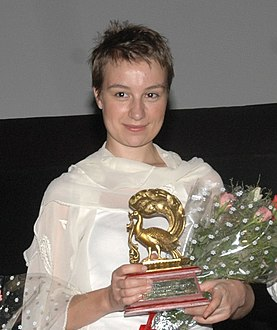 Anamaria Marinca in a presentation on November 24, 2007 in Panji.jpg