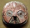 Ande centrali, costa del sud, chicha, maschera funeraria in argento, dalla valle di ica, 1200-1500 ca.jpg