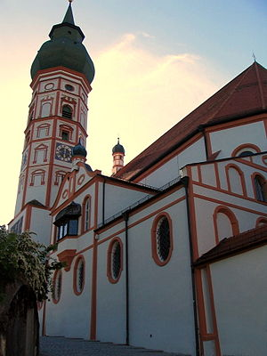 Andechs Abbey - Abbey Church