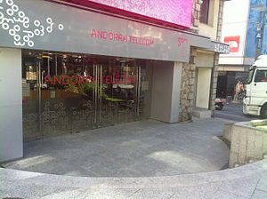 Andorra Telecom - Image: Andorra Telecom