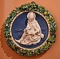 Andrea della Robbia, Teracotta roundel, 1490 (1) (29238824301).jpg