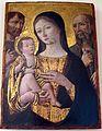 Andrea di niccolò, madonna col bambino tra i ss. giovan battista e girolamo, 1490 ca., da s. andrea a montecchio.JPG