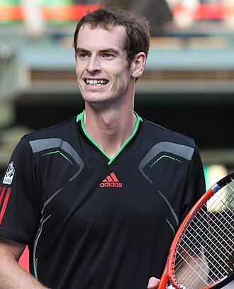 Djokovic–Murray rivalry - Image: Andy Murray 2011 Tokyo