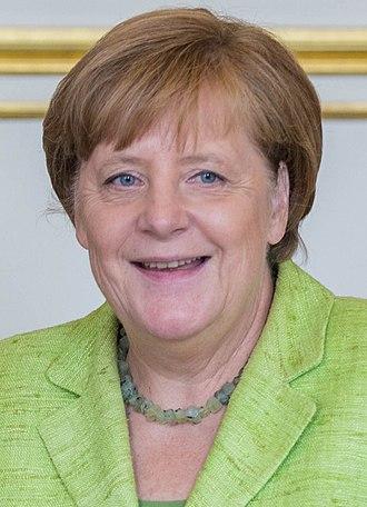 German federal election, 2017 - Image: Angela Merkel June 2017