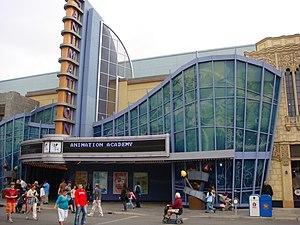 Animation Academy - Disney Animation building at Disney California Adventure in 2008.