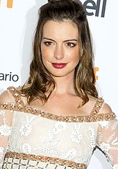 Hathaway at the 2016 Toronto International Film Festival