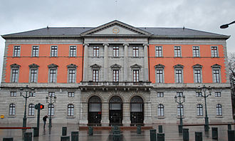 Annecy - The Hôtel de Ville (Town Hall)