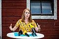 Annie Lööf 2018-08-01 Tarby Gård (42052468590).jpg