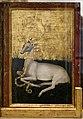Anonimo inglese o francese, dittico wilton, 1395-99 ca. 07 retro, cervo araldico.jpg