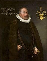 Portrait of baron Sigmund von Landau (1542-1606).