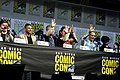 Anson Mount, Wilson Cruz, Anthony Rapp, Mary Chieffo, Doug Jones & Sonequa Martin-Green (42751661345).jpg