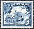 Antigua 8 Cent Stamp 1953.jpg