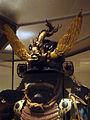 Antique Japanese (samurai) maedate (front crest).jpg